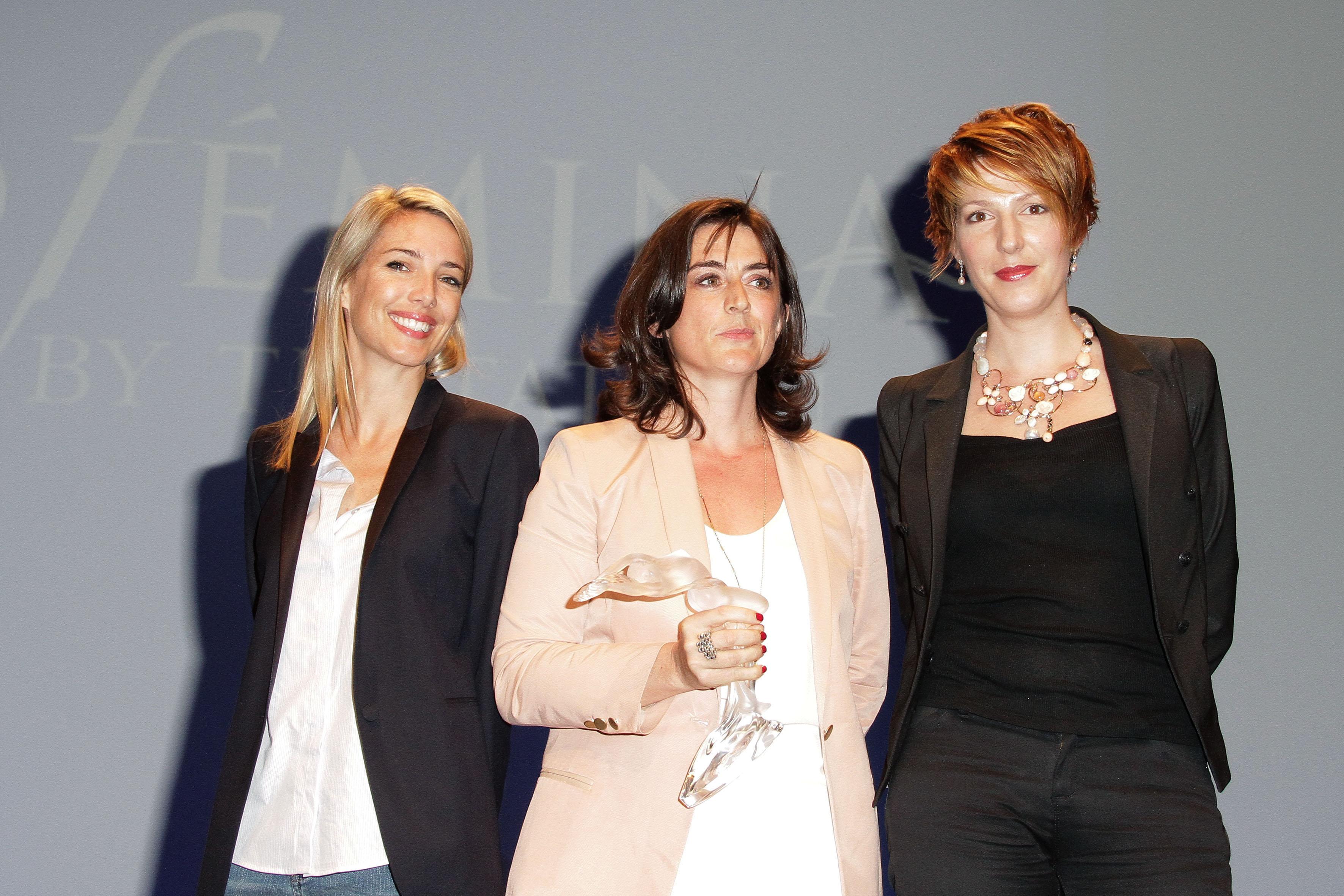 Les finalistes Médias : Sidonie Bonnec, Bérengère Bonte et Natacha Polony © Falour