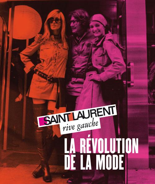 Affiche Saint Laurent Rive Gauche