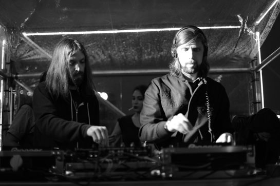 Breakbot et Pedro Winter aka Busy P aux platines