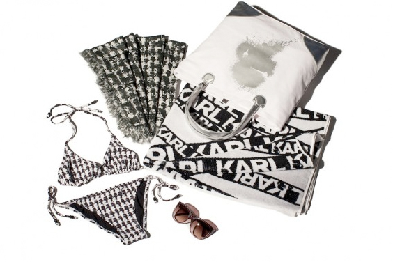 Pop up store Karl Lagerfeld à Saint-Tropez