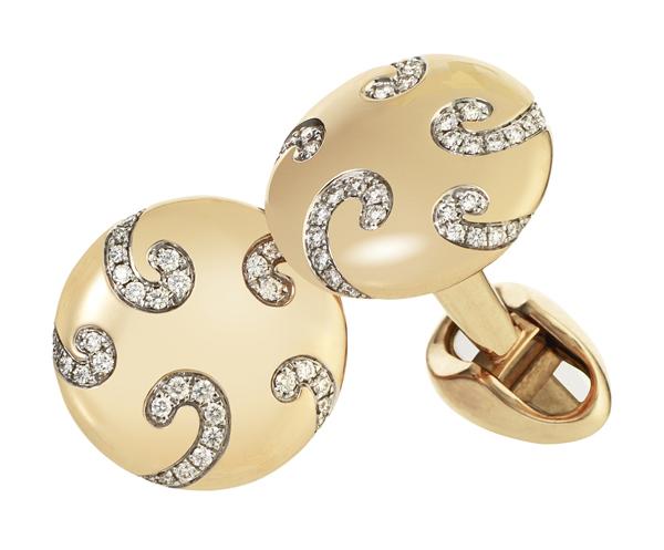 Boutons de manchette Oeuf Nicolaï Fabergé