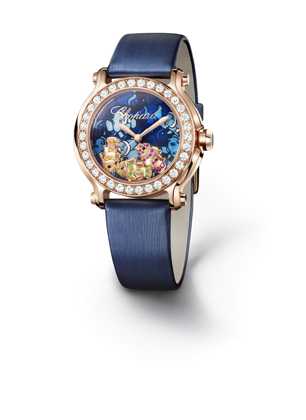 Happy Fish or rose diamants Chopard