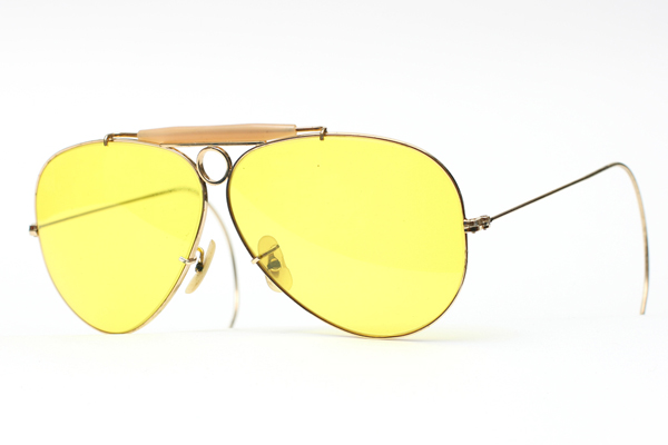 Ray Ban verres jaunes