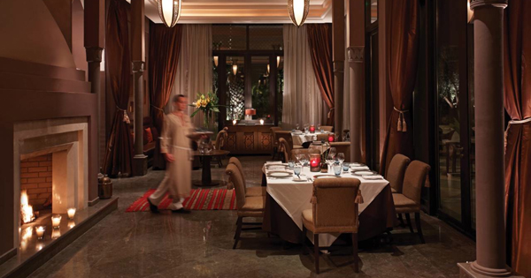 Restaurant Bleu D'orange Four Seasons Marrakech