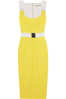 VICTORIA BECKHAM Basketweave cotton-blend dress 1,909.52