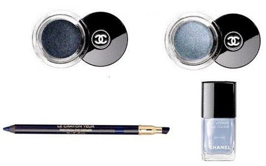 Chanel Blue Illusion