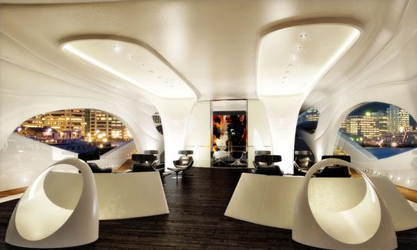 Yacht Oculus Intérieur