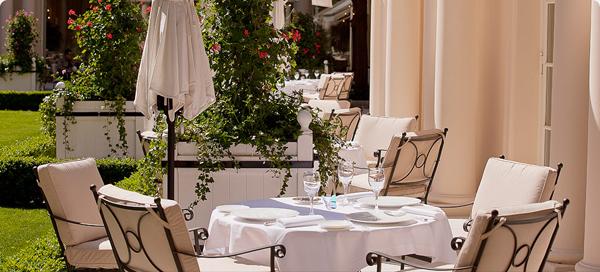 Nouvelle terrasse du restaurant Epicure