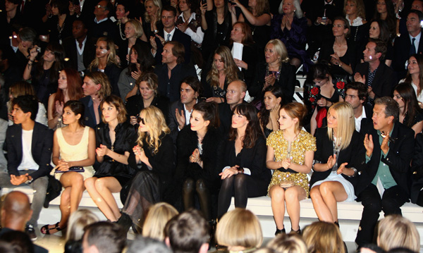 Fashion Week Londre Front Row