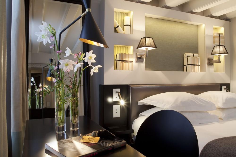 Chambre de L'Hotel Verneuil