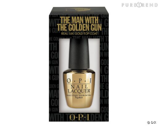 Vernis feuille d'or