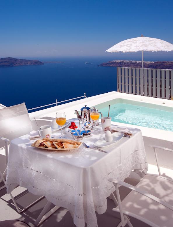 Hôtel GRACE Santorini Chambre Deluxe