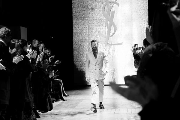 Dernier défilé de Stefano Pilati chez Yves Saint Laurent