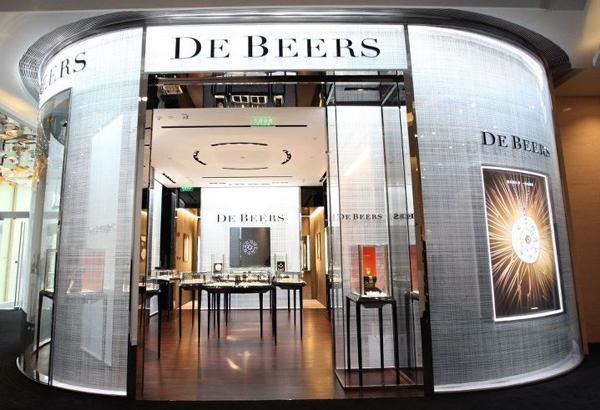 La boutique De Beers de Shanghai