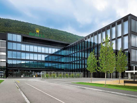 Rolex nouvelle manufacture de Bienne