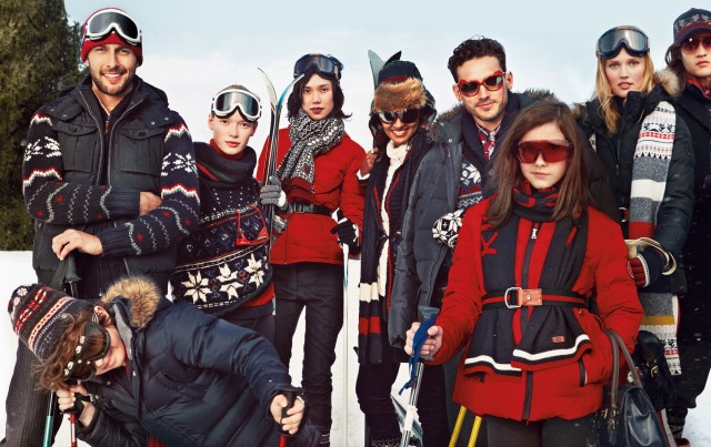 La collection « Snow Chic » de Tommy Hilfiger