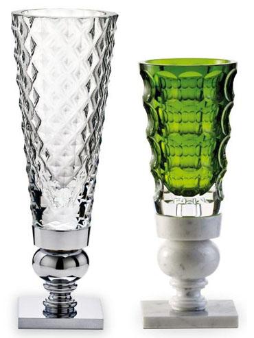 Vases Rois de la Forêt par Marcel Wanders, Grand modèle cristal