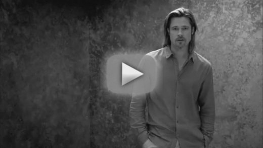 Brad Pitt, égérie de Chanel N°5