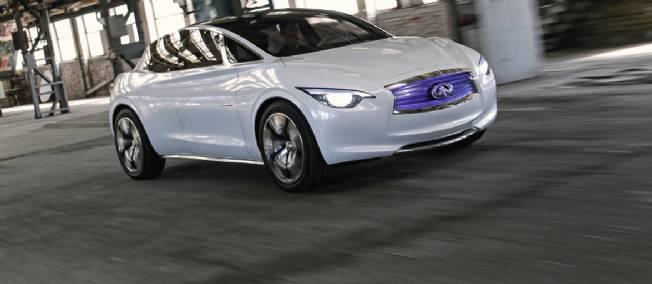 La marque de voiture de luxe Infiniti