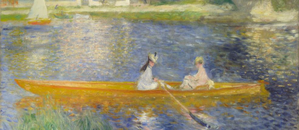 Pierre-Auguste Renoir, La Yole, 1875