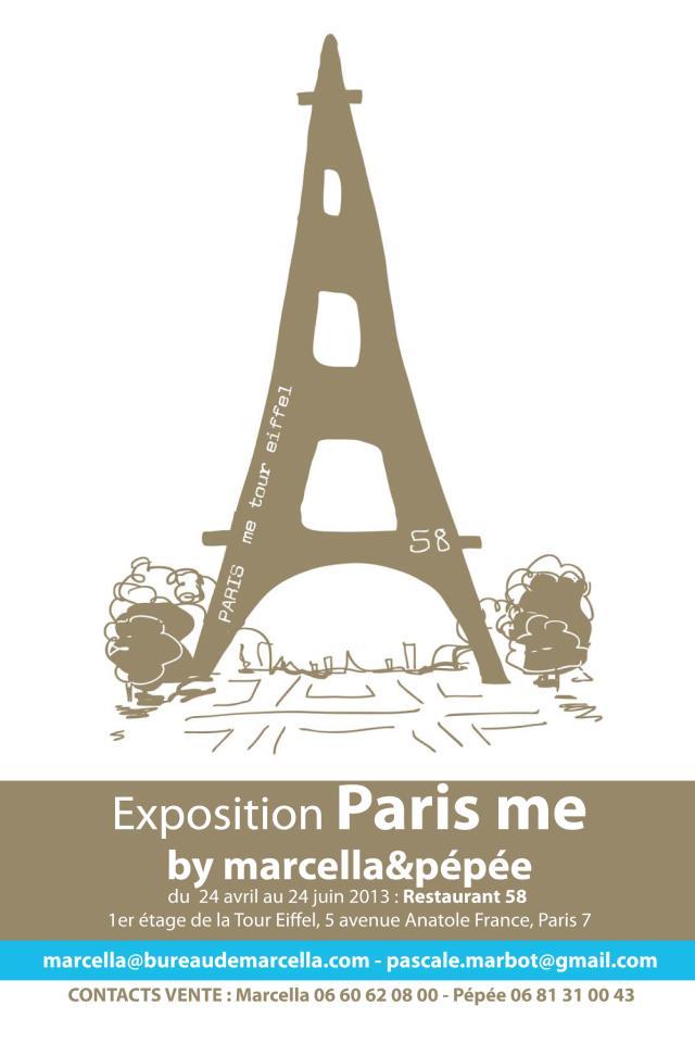 Exposition Paris Me à la tour Eiffel