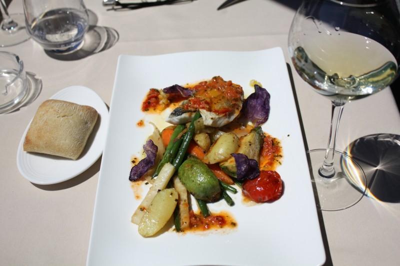 Dorade et ses légumes - Le Sol & Mar Saint Raphaël