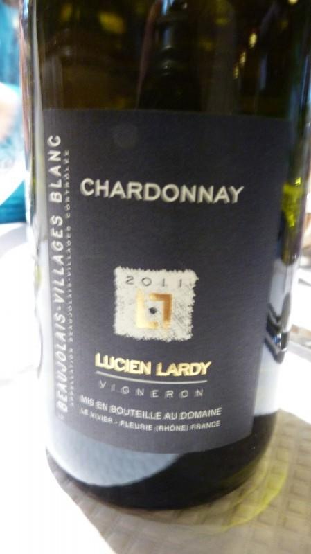 Beaujolais village - Lucien Lardy 2011