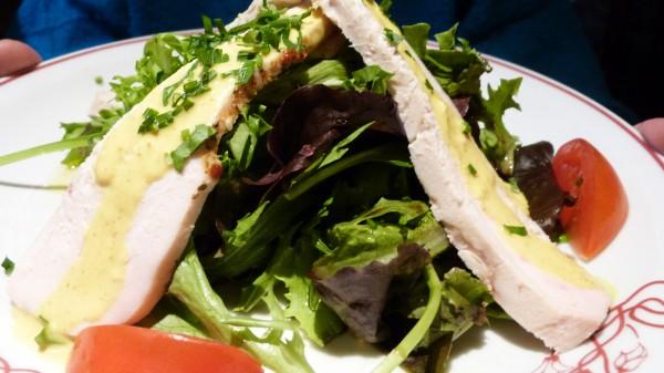 Salade de Poulet au Curry