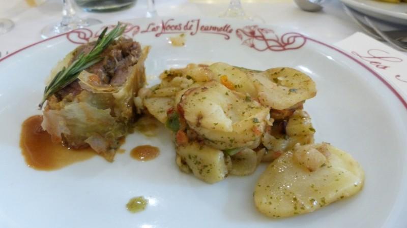 Agneau et ses pommes de terre
