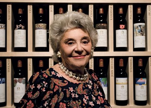 La Baronne Philippine de Rothschild reçoit le prix Lifetime Achievement 2013