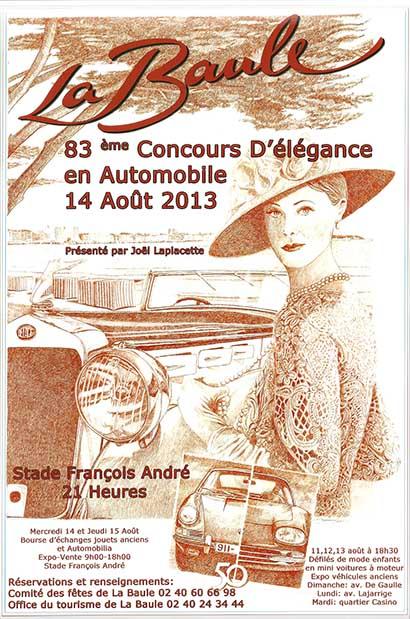 La baule c l bre l 39 l gance en automobile du 11 au 15 ao t firstluxe - La baule office du tourisme ...