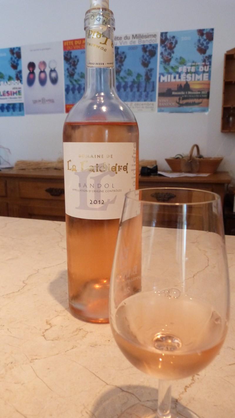 La Laidière - Bandol - Rosé 2012