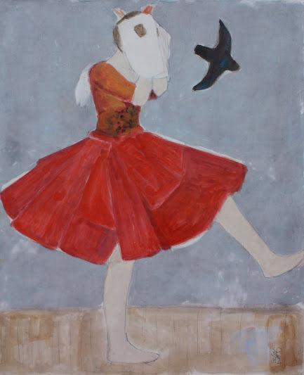 """Stéphane DAUTHUILLE  """"Echappées Funambules"""" à la Galerie Insula"""