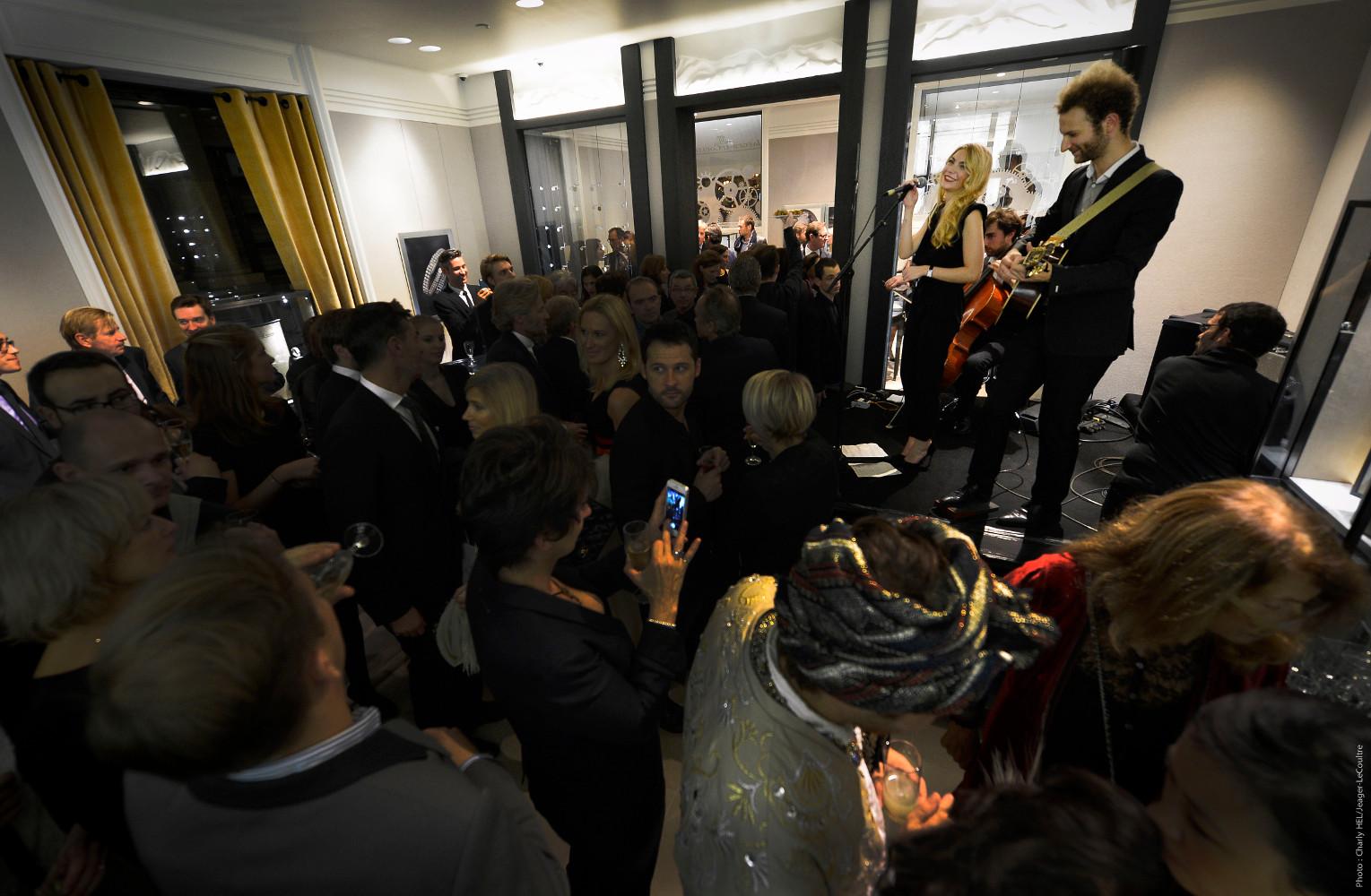 Soiree Jaeger-LeCoultre ambiance concert credit PixHel