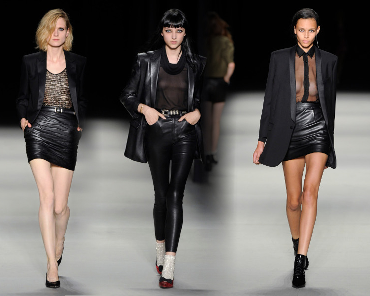 saint laurent collection 2014