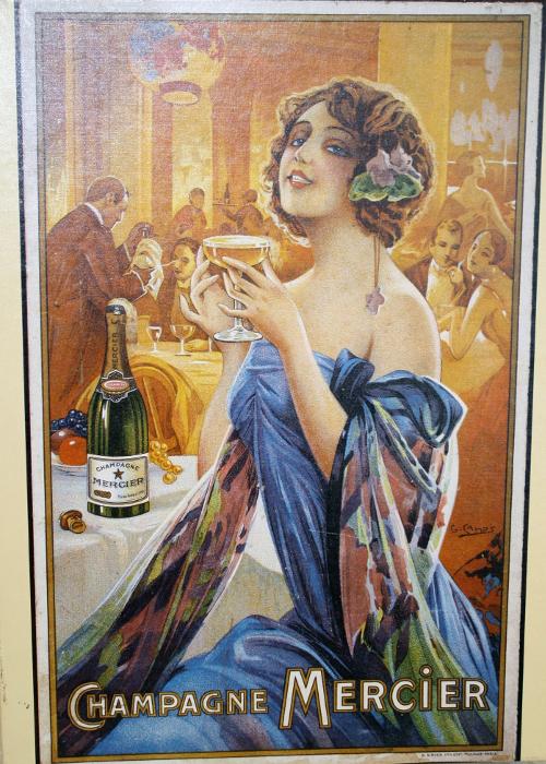 champagne Mercier puzzle