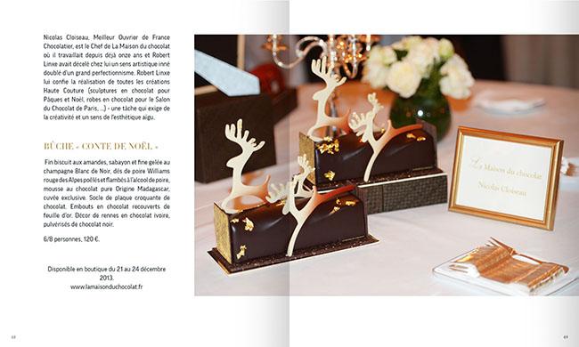 buche maison du chocolat 2013 - vignette