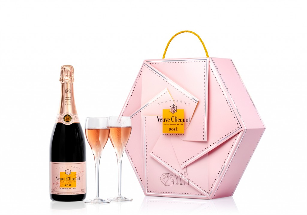 Rose collection coffret+bouteille