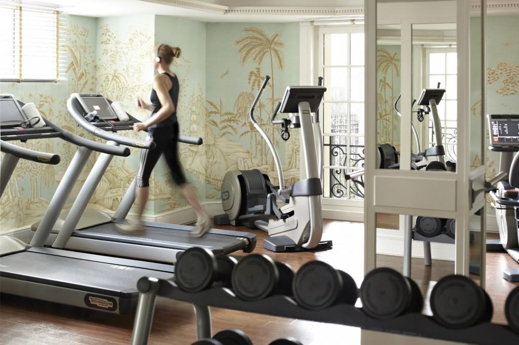 Fitness   - Shanhri-La Hotel Paris