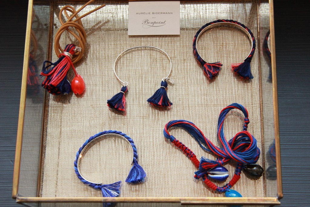 collection Aurélie Bidermann, à partir de 55 euros pour un jonc en métal.