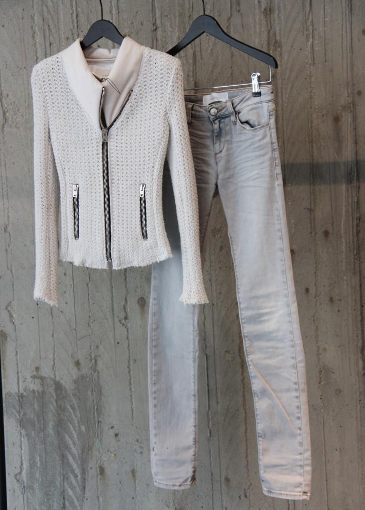 veste 445 euros, Jeans 180 euros