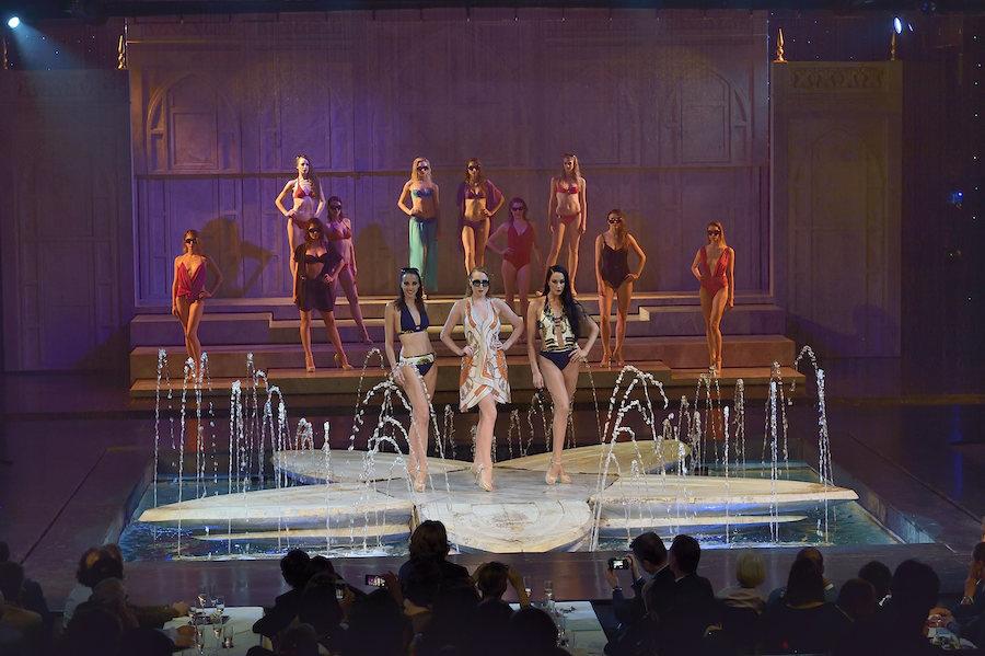 Défilé de lingerie au Lido pour les 130 ans de Lejaby. Paris. 75008. 27 Mai 2014 -AlfaLibra