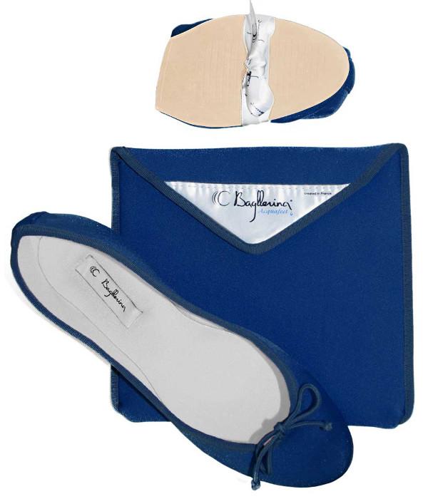 Acquafeet-BiCOLORS-Blanc-Bleu-Semelle-Blanche