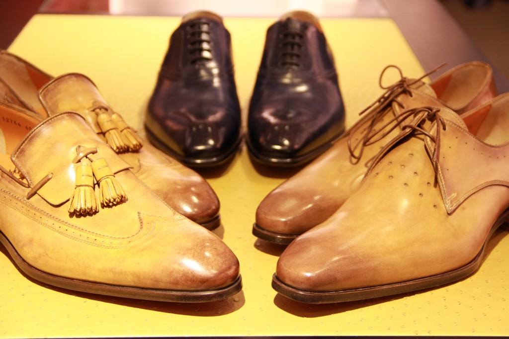 Chaussures Santoni à partir de 650 euros