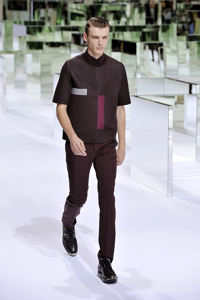 LOOK 14 SS14 Dior Homme by Patrice Stable