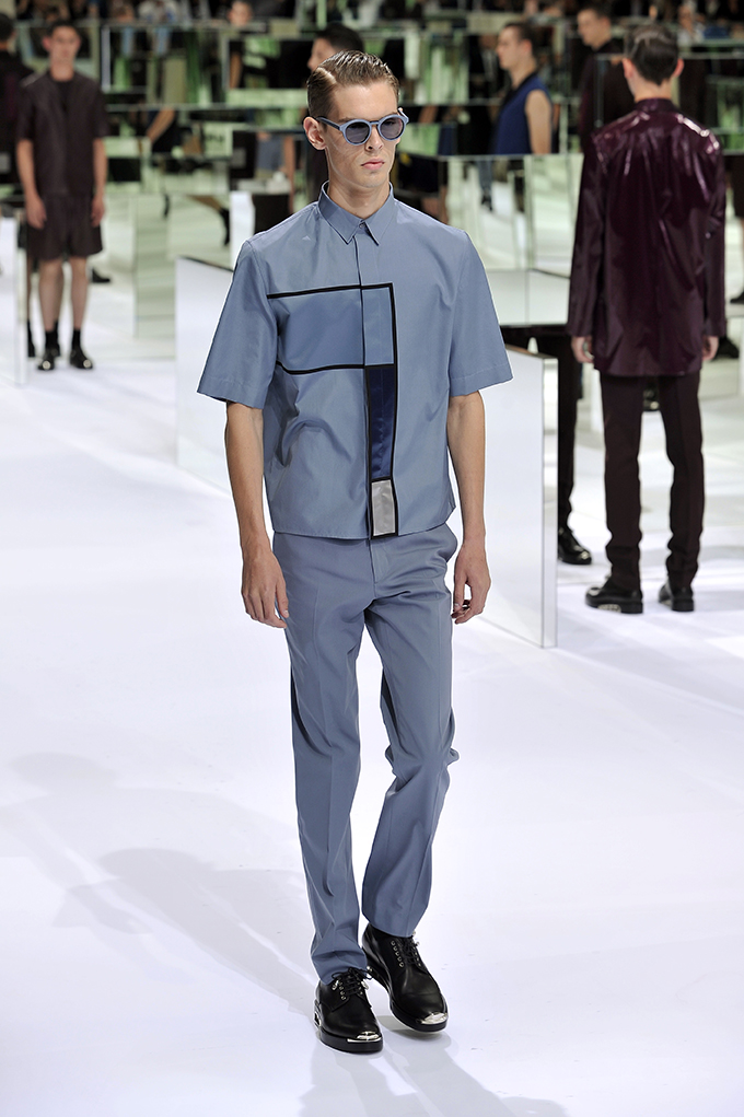 LOOK 39 SS14 Dior Homme by Patrice Stable