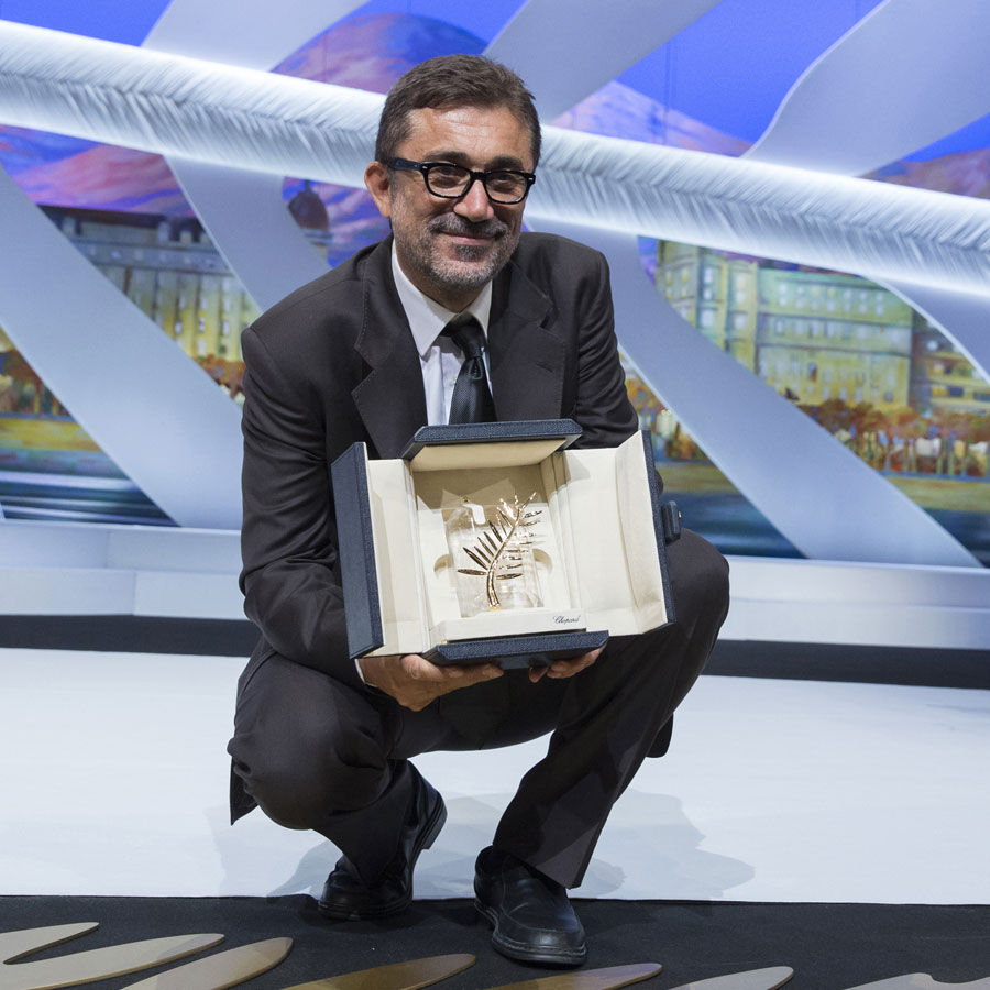 Nuri Bilge Ceylan for winning the first ever fairmined Palme d'Or for his movie Winter Sleep. festivaldecannesofficiel