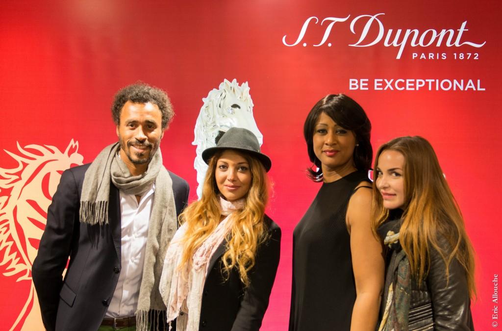 Une partie de l'équipe First Luxe avec Jessy, directrice de la boutique