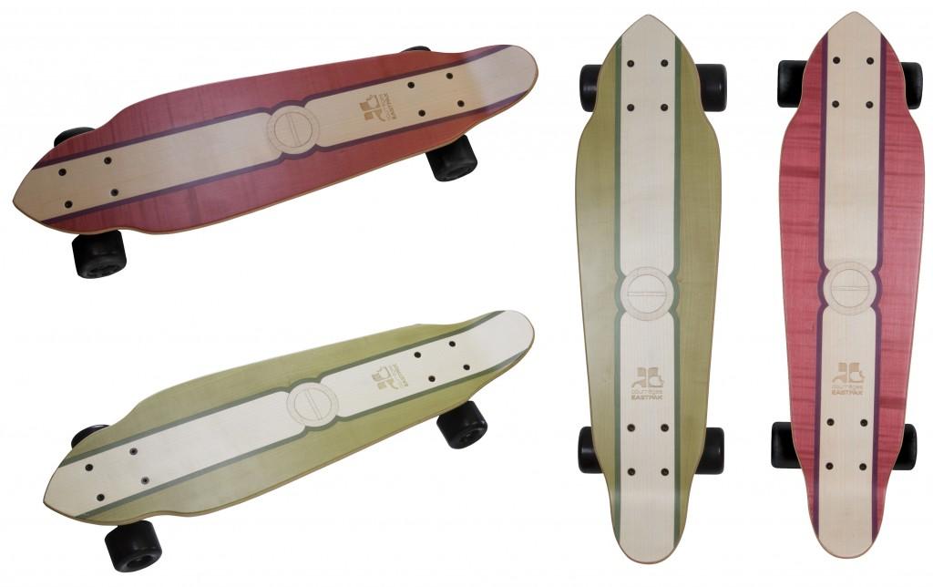 Eastpak X Courreges_ skatebord