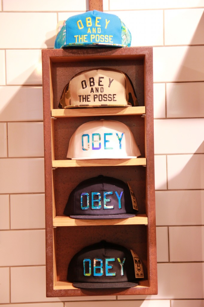 Casquettes Obey, 50 euros